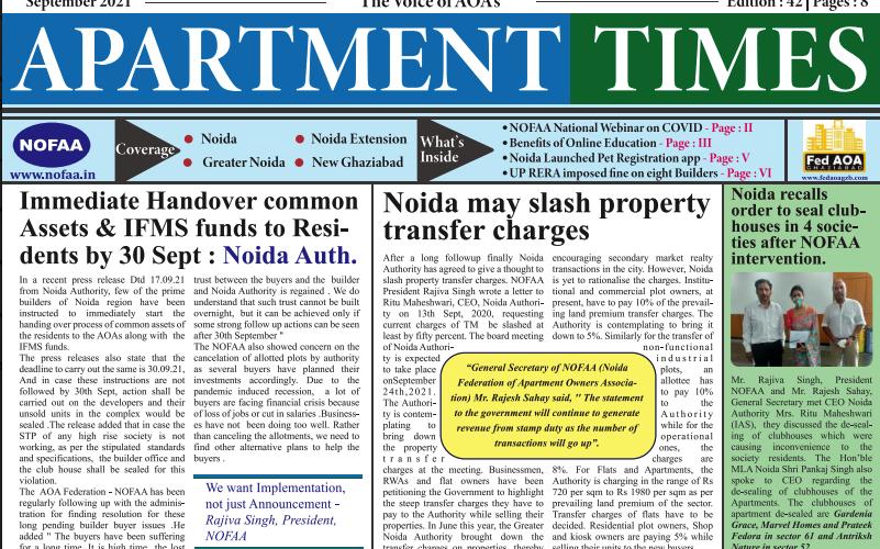 Apartment Times September 2021 e-paper