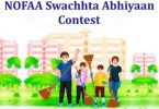 NOFAA Swachhta Abhiyaan Contest